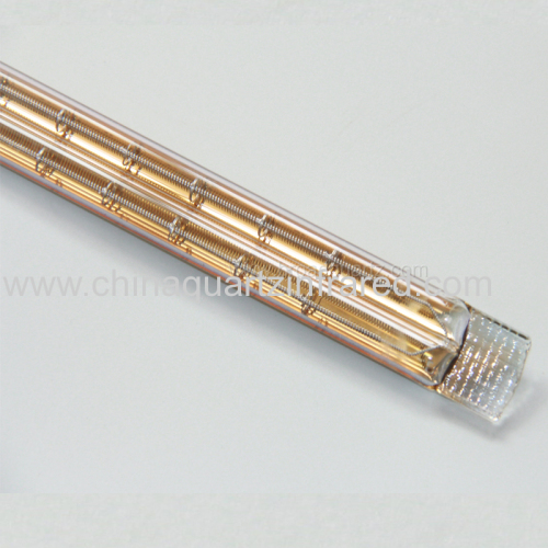 Waterproof Halogen infrared poultry heating lamp for Process Heating