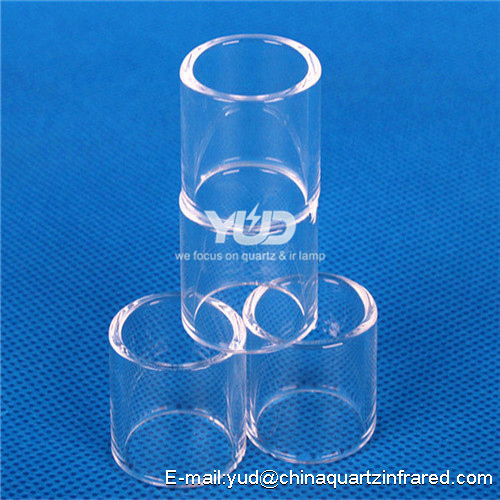 Large Diameter Quartz Clean Glass Tube Heat resistant silicate quartz glass tube