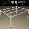 16x12x8m Plat Roofing Trussing System with 4 Towers and Bolt Connection