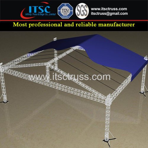Pyramid Roofing Trussing System China Supplier