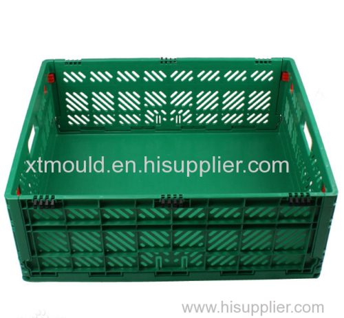 Plastics Circulation Box Injection Mould