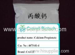 Calcium Propionate CAS: 4075-81-4 MF:C6H10CaO4