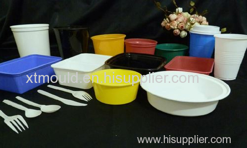 Plastic Tableware Injection Mould