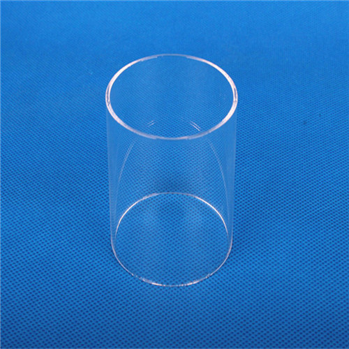 quartz heating Large diameter quartz tube thick walled quartz tube