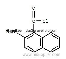 2-ethoxynaphthalene-1-carbonyl chloride cas:55150-29-3 2-ethoxynaphthalene-1-carbonyl chloride cas:55150-29-3