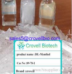 DL-Menthol CAS:89-78-1 MF:C10H20O 99%min