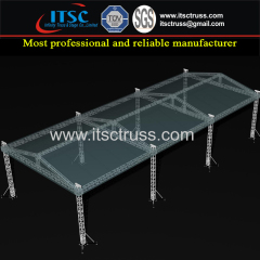 Aluminum Trussing Lighting Trussing Structure for Car Show Display