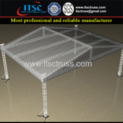 18x12x8M Strengthened Lighting Trussing Pyramid Roofing System