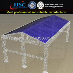20X12X8M Indoor Pyramid Roofing with Cross Trussing as Support