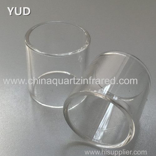 All dimension tubes fused silica quartz tube clear quartz glass tube pipe