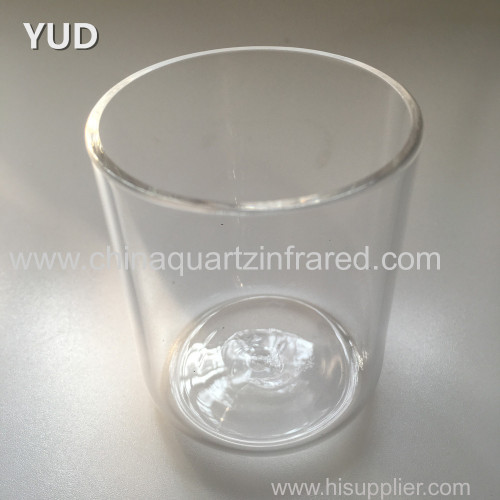 best selling high quality clear quartz combustion tube