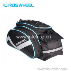 Multifunction 13L Roswheel Bicycle parcel shelf Saddle Bag