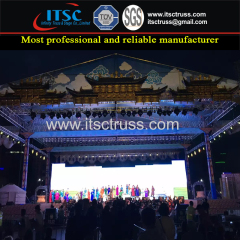 Mongolia Lighting Trussing Roofing Projects