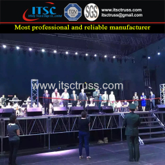 5ft Aluminum Stage Trusses Projects for Concerts Events in Mogolia