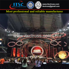 Stage Lighting Trussing LED Screen Concert Pojects