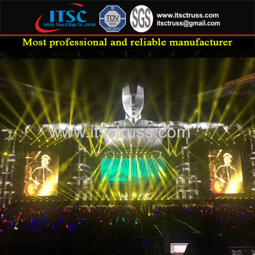 X-Man Shape Laser Stage Lighting Trussing System Concerts Projects