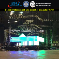 Custom Lighting Trussing and LED Screen Display Trussing Concerts Projects