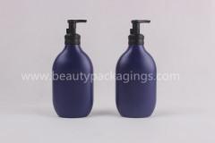 300ml Empty Round Plastic Shampoo Lotion Pump Bottle