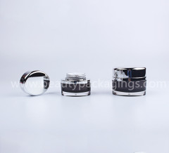 Oval Shape 30g 50g Luxury Acrylic Cosmetic Cream Jar