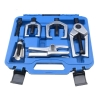 New Auto Front End 5-Pc Service Kit Ball Joint Tie Rod Arm Set Puller Remove