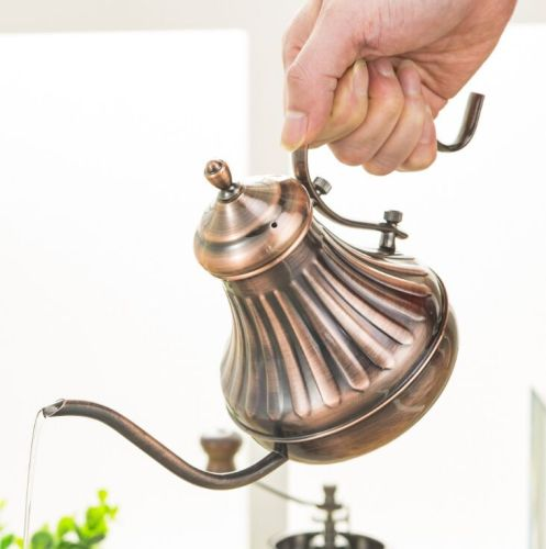 304 stainless steel fine mouth coffee Pot