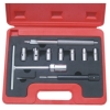 10pcs Laser Diesel Engine Injector Seat Clear Repair Tool Set