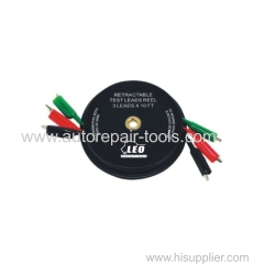 Retractable Test Lead Reel-3 leads*10'