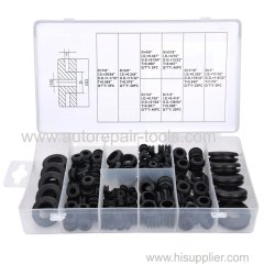 180 PC Rubber Grommet Assortment