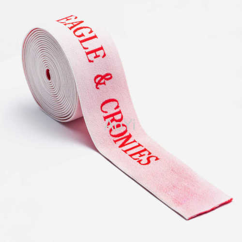 Jacquard Frosted woven elastic tape band