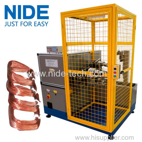 Big pump motor coil making equipment stator torodid coil winding machine