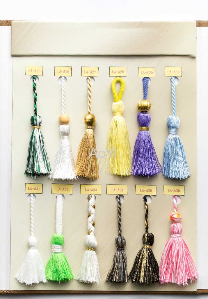 Cotton Crochet Tassel Fringe for furniture