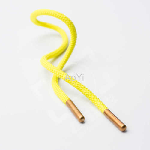 Round cord with Metal Plastic tips