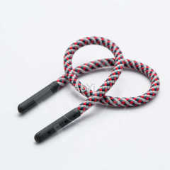 braided cord with Rubber tips