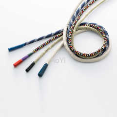 Eco-friendly apparel braided cord High quality drawcord