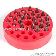 Magnetic Bit Holder RED