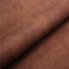 bronzed suede sofa fabric with fleece
