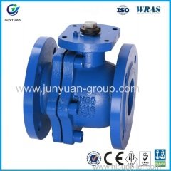 Cast Iron Ball Valve Ductile Iron Ball Valve ANSI-125/150 Cast Iron Ball Valve