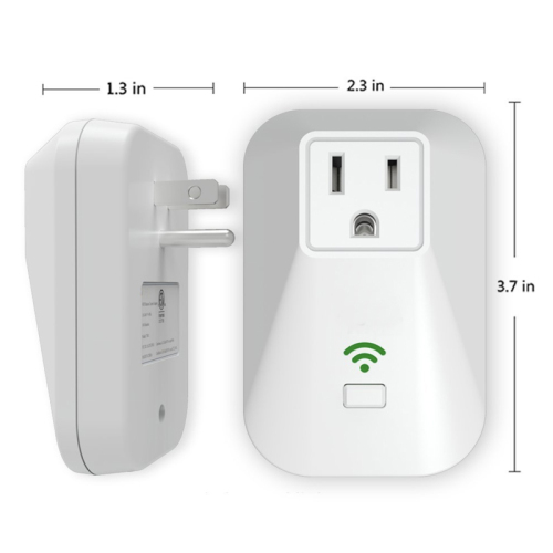 LaneTop Smart Plug No Hub Required Wi-Fi Control your Devices Works with Alexa & Google Home X3 US