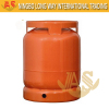 Camping Stainless Propane LPG Gas Cylinder 6kg