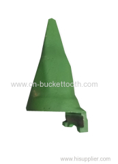 sand-casting bucket tooth used on dredger