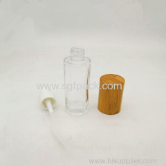 30ml frosted glass bottle
