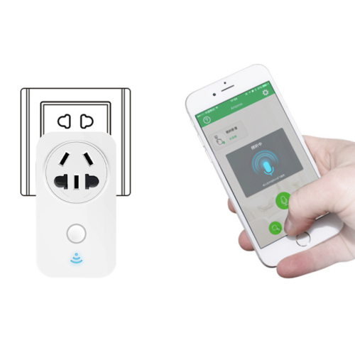 LaneTop Works with Amazon Alexa Wifi Smart Plug Smart Switch Smart Home Wireless Wall Electric Socket X22 CH