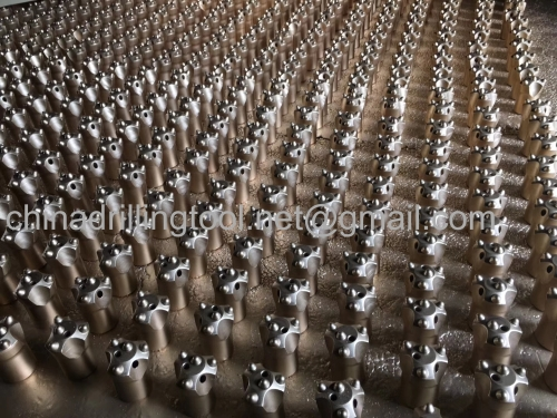 Factory price mining hard rock drill bit thread/