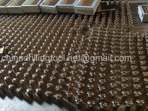 34mm taper button bits used for quarrying