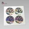Custom 3d hidden text tamper proof hologram stickers