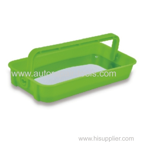 Magnetic Parts Tray Depth 28mm Green
