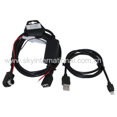 Car Audio Cable For Alpinr KCA121B AI-Net Radio AUX Input For iPod iPad
