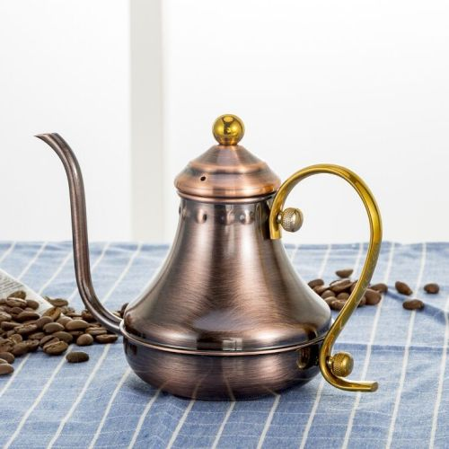 stainless steel fine mouth coffee pot