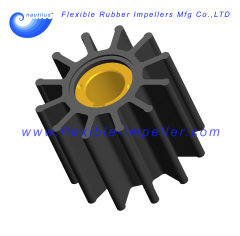 Flexible Rubber Impeller replace Nikkiso F65KBC Neoprene