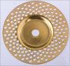 Diamond Electroplated Depressed Center Grinding Wheel 144holes